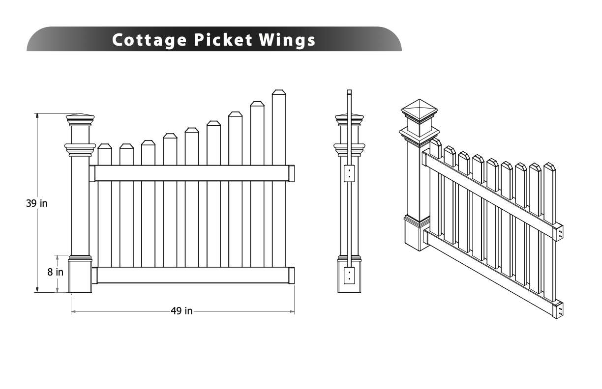 Cottage Picket Wings Image