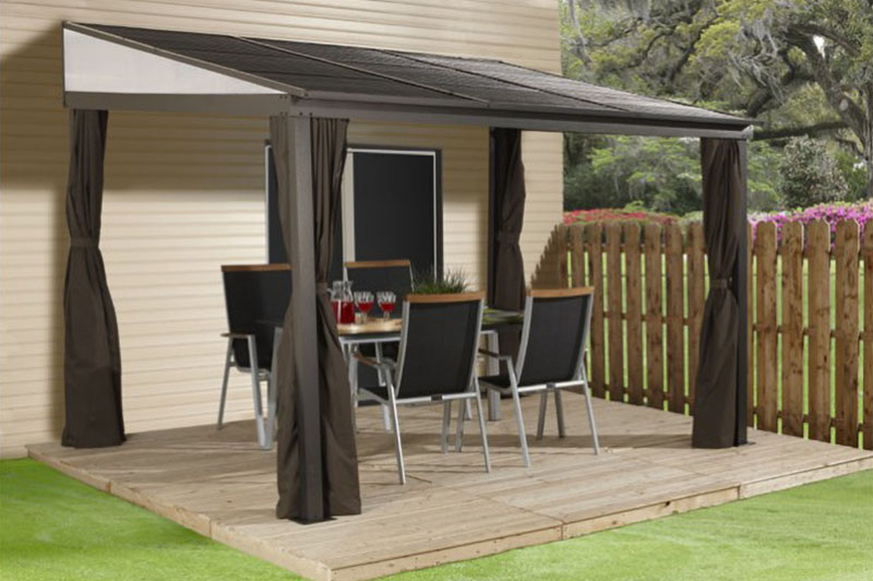 Sojag Wall Attached Patio Covers Easy