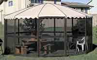 Casita Round Screen Room