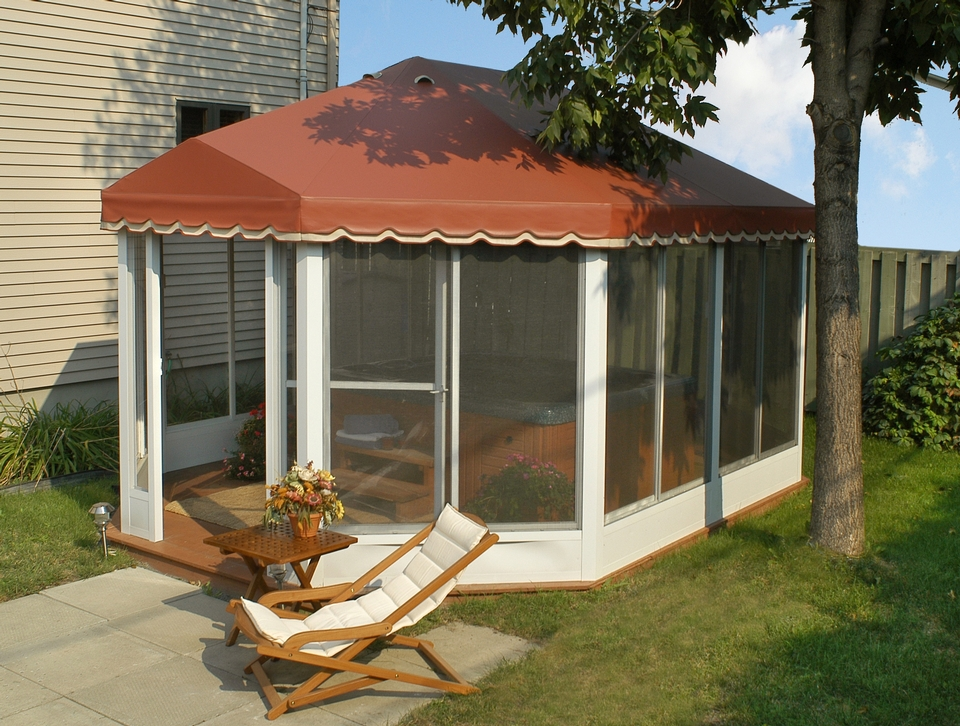 Carrousel Oblong Free Standing Screen Rooms Deck And Patio Enclosures