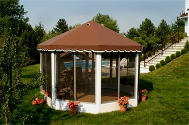 Oval Carrousel Gazebo